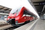 Premierenfahrt: Neue S-Bahn-Züge in Rostock unterwegs