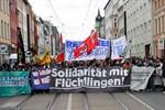 Refugees Welcome - Demo für Solidarität mit Flüchtlingen