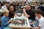 Spielidee lockt Familien in die Hansemesse