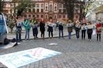 """20?? - Rostock geht baden"" - Flashmob auf dem Uniplatz"