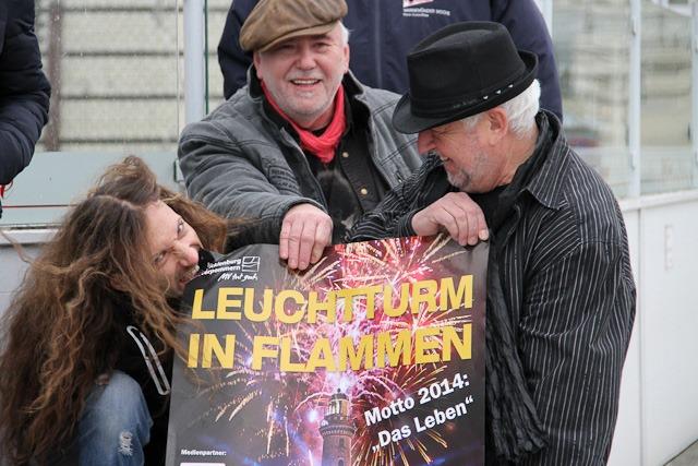 Die Rockband Karussell freut sich auf Leuchtturm in Flammen 2014