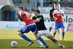 Hansa Rostock besiegt die SpVgg Unterhaching mit 3:1