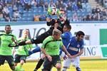 Hansa Rostock trennt sich von den Stuttgarter Kickers 2:2