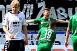Hansa Rostock besiegt Wacker Burghausen mit 1:0