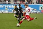 Hansa Rostock unterliegt dem Halleschen FC mit 3:4