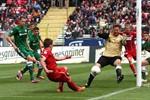 Hansa Rostock und Rot-Weiß Erfurt trennen sich 1:1