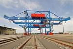 Offizielle Inbetriebnahme der KV-Portalkräne im Seehafen
