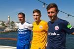 Hansa Rostock präsentiert neue Trikots und neuen Hauptsponsor