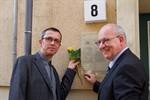 Gedenktafel für Otto Weidt eingeweiht