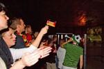 Public Viewing in Rostock zur Fußball-WM 2014