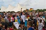 Public-Viewing im IGA-Park enttäuscht Fußball-Fans