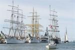 24. Hanse Sail Rostock vom 7. bis 10. August 2014