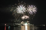 Sailor's Feuerwerk zur Hanse Sail 2014