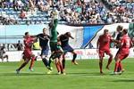 Hansa Rostock unterliegt dem Halleschen FC mit 0:1