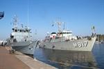 Minenabwehrverband der NATO zu Besuch in Rostock