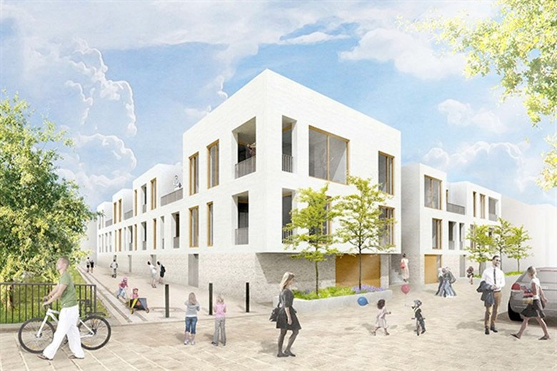 architekturwettbewerb f r nikolaihof im petriviertel. Black Bedroom Furniture Sets. Home Design Ideas