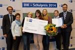 """IHK-Schulpreis 2014 für Schülerfirma """"The fantastic colours"""""""