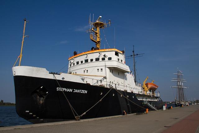 """Die """"Stephan Jantzen"""" ist zurück im Rostocker Stadthafen"""