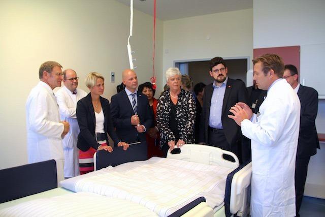 Neue Intensivstation am Südstadt-Klinikum in Rostock