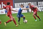 Hansa Rostock und die SpVgg Unterhaching trennen sich 2:2