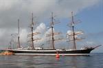 """Die """"Sedov"""" lädt in Warnemünde zum """"Open Ship"""" ein"""