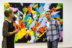 Norbert Bisky bringt die Rostocker Kunsthalle aus den Fugen
