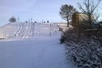 Der erste Schnee des Winters ist da