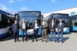 Neue Niederflur-Gelenkbusse für die RSAG