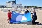 """Warnemünde hisst die """"Blaue Flagge"""""""