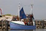 Flüchtlingsboot M/S Anton zu Gast in Warnemünde