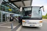 Mit dem Bus zum Flughafen Rostock-Laage