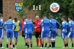 Hansa Rostock und der Chemnitzer FC trennen sich 1:1