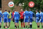 Hansa Rostock schlägt Fortuna Köln mit 4:2