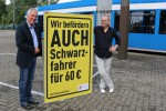 RSAG startet Plakatkampagne gegen Schwarzfahrer