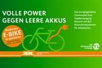 Alte Batterien abgeben, neues E-Bike gewinnen