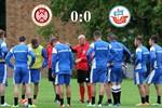 Hansa Rostock und Wehen Wiesbaden trennen sich 0:0