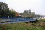 Sperrung der Geh- und Radwegbrücke in der St.-Petersburger Straße