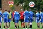 Hansa Rostock unterliegt dem VfB Stuttgart II mit 1:3