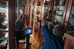 Amerikanisches Filmteam berichtet über Pfeilstorch der Uni Rostock