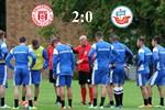 Hansa Rostock unterliegt dem Halleschen FC mit 0:2