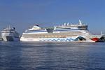 182 Kreuzfahrtschiffsanläufe 2016 in Rostock-Warnemünde erwartet