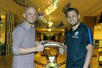 Marcel Ziemer bleibt bis 2018 an Bord der Hansa-Kogge