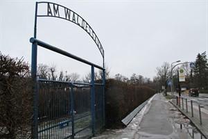 Ohne Eingriffe in die Kleingartenanlange wäre der Rad-/Fußweg in der Parkstraße Warnemünde, Richtung Doberaner Landstraße nicht zu realisieren