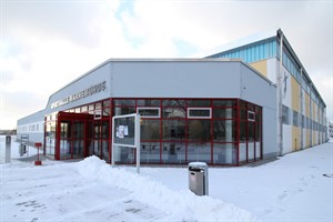 Sporthalle im Friedrich-Ludwig-Jahn-Sportpark Warnemünde