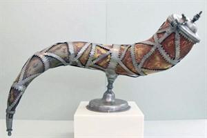 Kostbares Trinkhorn der Rostocker Lohgerber wieder ausgestellt (Foto: Kulturhistorisches Museum Rostock)