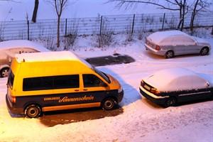 Der Schülerbus-Sonderverkehr hat den Betrieb aufgrund der winterlichen Straßenverhältnisse in Rostock eingestellt