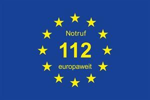 Notruf 112 europaweit - Rostocker Feuerwehr setzt europäisches Zeichen