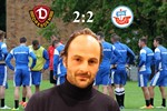 Hansa Rostock und Dynamo Dresden trennen sich 2:2 (0:1)