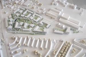 Städtebaulicher Entwurf fürs Werftdreieck