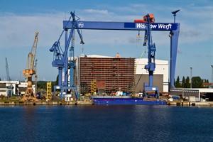 Asiatische Genting kauft Nordic Yards Werften in Mecklenburg-Vorpommern, unter anderem die Warnow Werft in Warnemünde